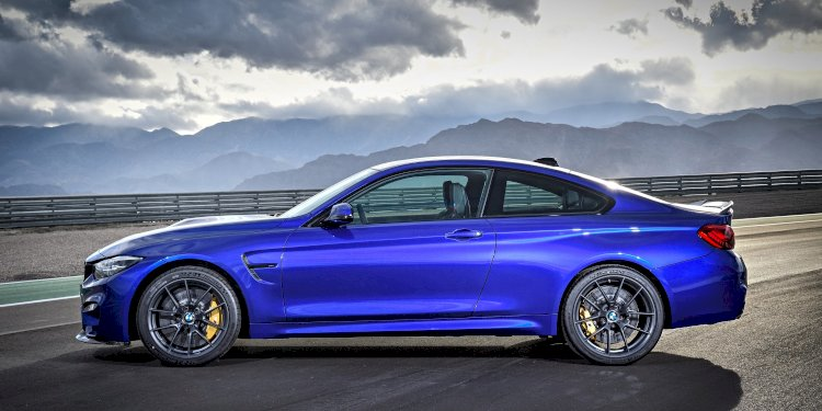 The new BMW M4 CS. Photo by BMW Group