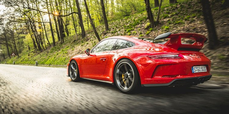 The new Porsche 911 GT3. Photo by Porsche AG