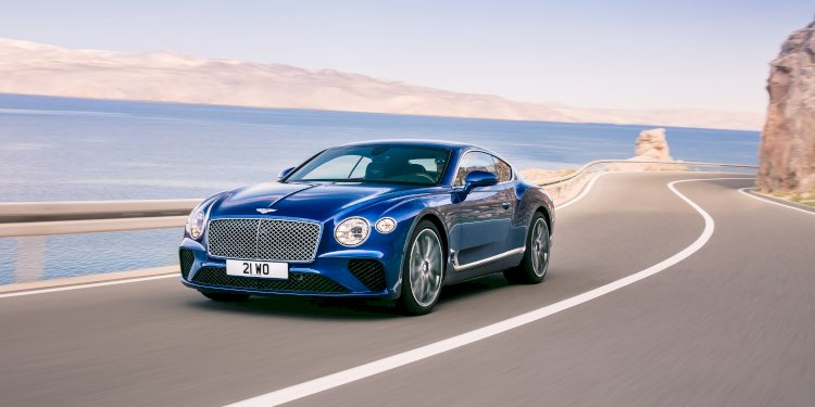 The all-new Bentley Continental GT. Photo by Bentley Motors