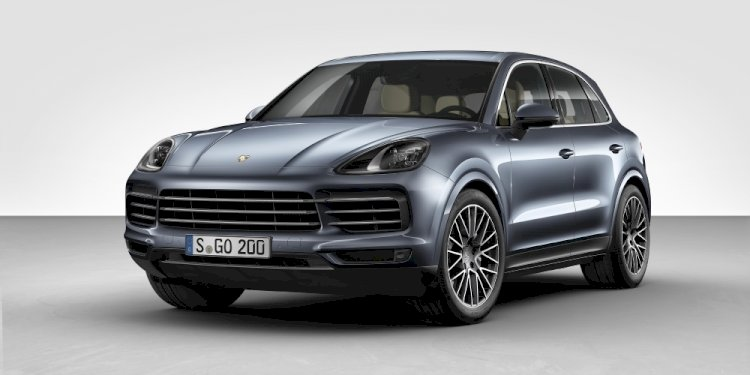The new Porsche Cayenne. Photo by Porsche AG