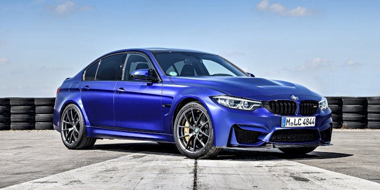The new BMW M3 CS. Photo by BMW Group