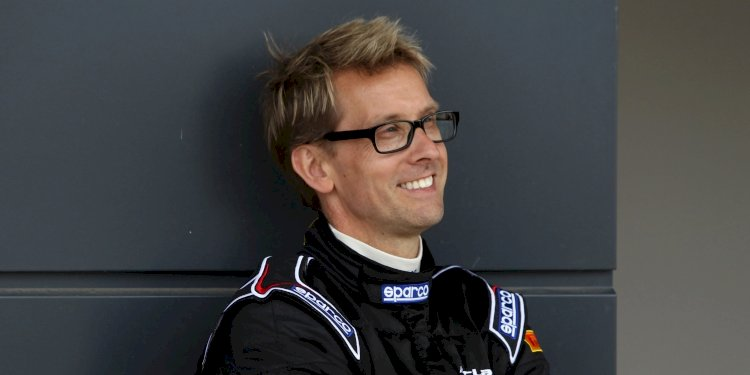 Kenny Bräck - Chief Test Driver at McLaren Automotive. Photo by McLaren Automotive Limited