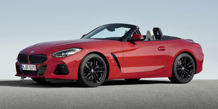 The new BMW Z4 Roadster. Photo by BMW Group