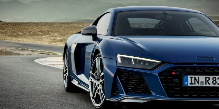 The new Audi R8. Photo by Audi AG