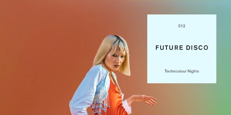 Future Disco presents Technicolour Nights. Art by Future Disco