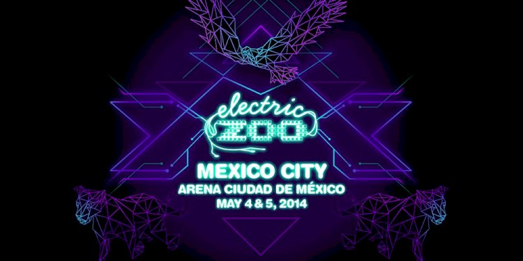 Electric Zoo goes Mexico City 2014. Photo by Made Events