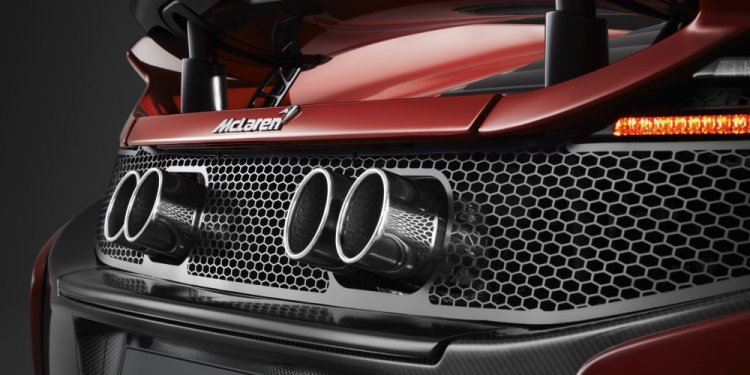 McLaren 650S Can-Am Tailpipes