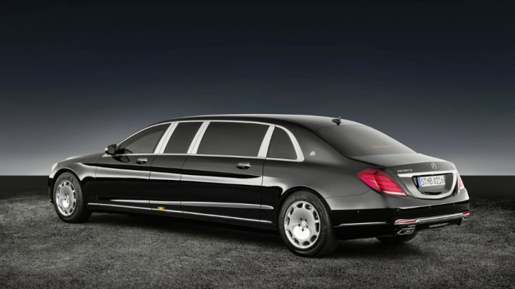 The Mercedes-Maybach S 600 Pullman. Photo by Mercedes-Maybach