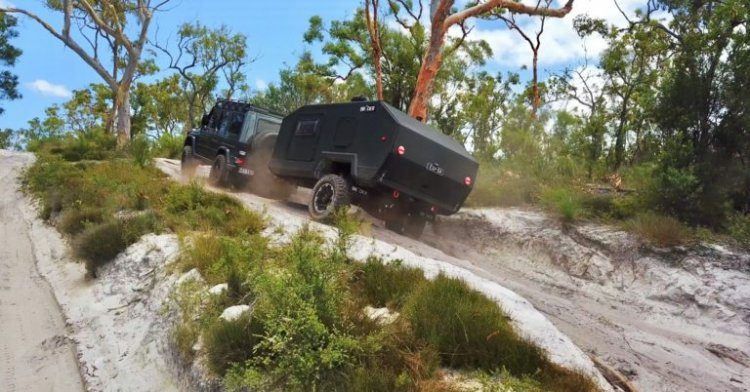 Offroading the Bruder EXP-4