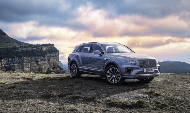 The new Bentley Bentayga