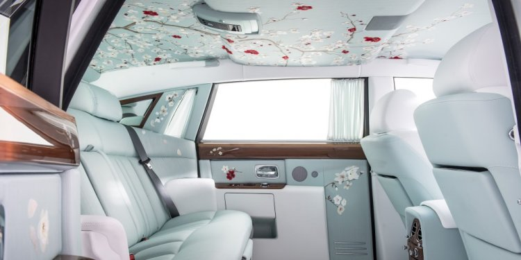The Rolls-Royce Serenity Interior Details