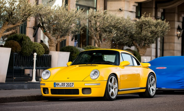 The new RUF CTR is stunning