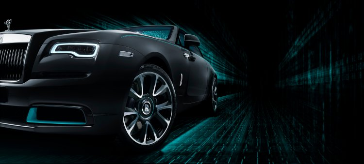 The Rolls-Royce Wraith Kryptos Collection