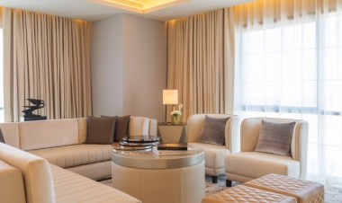 Bentley suite at St. Regis Dubai