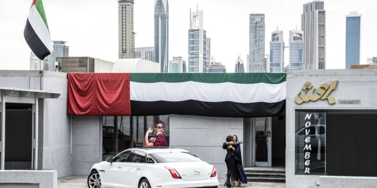 Jaguar learns how fashion innovation is pushing boundaries in the Middle East. Photo by Jaguar Land Rover