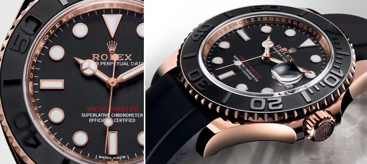 Rolex Oyster Perpetual Yacht-Master. Photo by Rolex