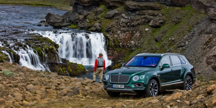 A fly fisherman's wet dream. Photo by Bentley Motors