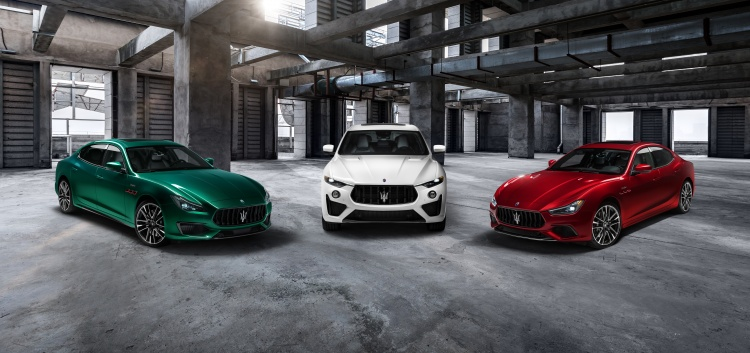 The new Maserati Trofeo collection. Photo by Maserati S.p.A.