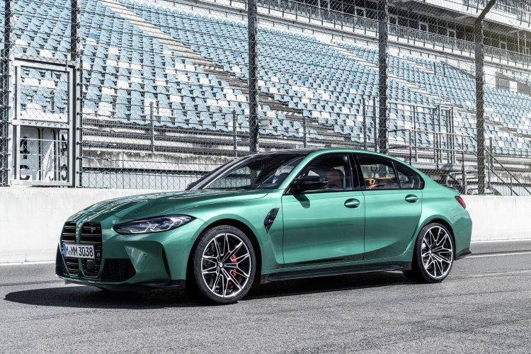 The new BMW M3 and M4. Photo by BMW Group