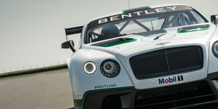 Bentley Continental GT3 - Luxury on Diet. Photo by Bentley Motors