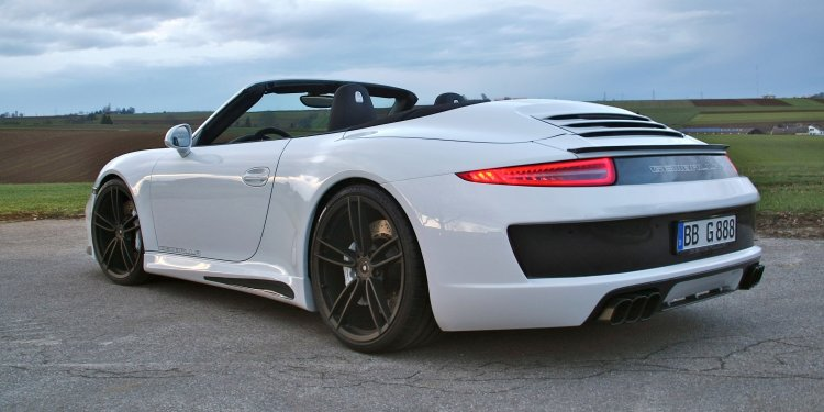 An Open Show of Carbon and Emotion: Gemballa GT Cabrio