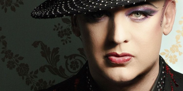 Interview with Boy George. Boy George
