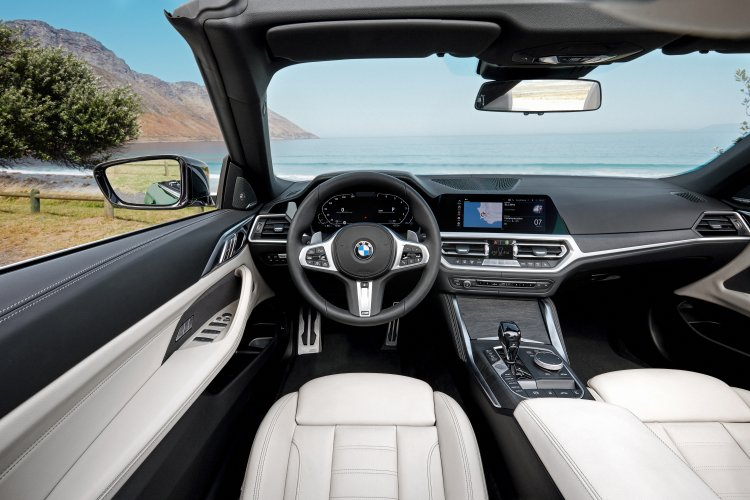 The all-new BMW 4 Series Convertible. Photo by BMW Group