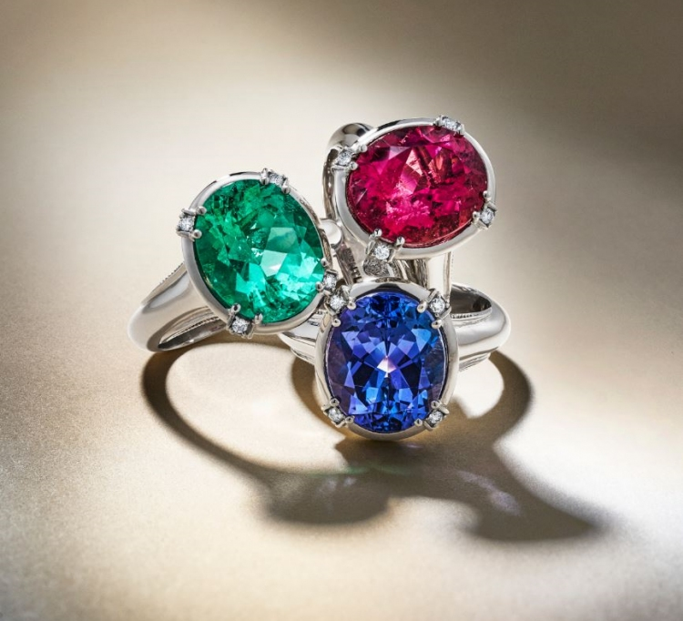 Adding colour to the Bentley Jewellery Collection. Photo by Bentley Jewellery Collection