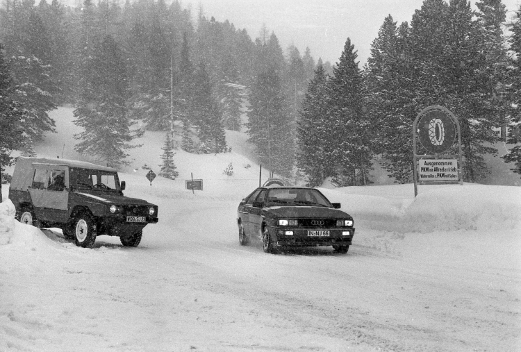 40 years of quattro - The Audi story. Photo by Audi AG