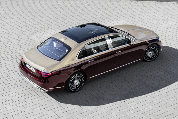 The new Mercedes-Maybach S-Class. Photo by Mercedes-Maybach
