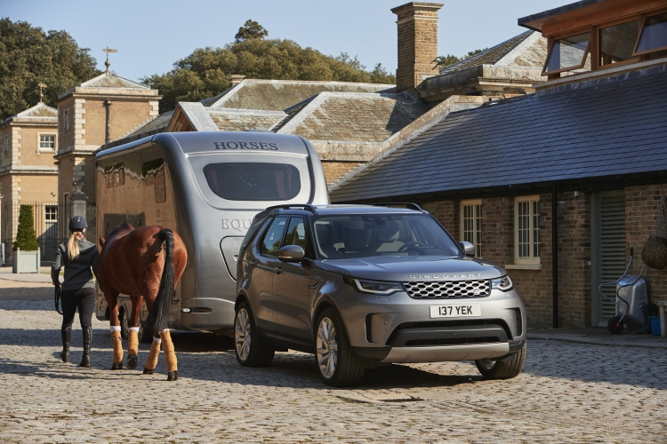 The new Land Rover Discovery. Photo by Jaguar Land Rover