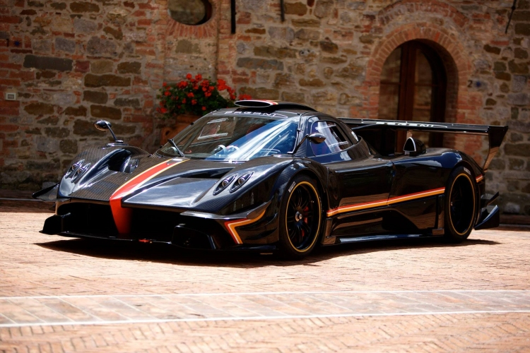 Pagani presents the Zonda Revolucion. Photo by Pagani Automobili