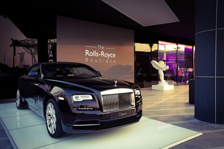 The Rolls-Royce Boutique. Photo by Rolls-Royce Motor Cars