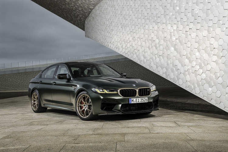 The new BMW M5 CS. Photo by BMW Group