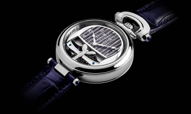 The Rolls-Royce Boat Tail Timepiece by Bovet 1822