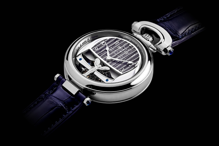The Rolls-Royce Boat Tail Timepiece by Bovet 1822. Photo by Rolls-Royce/Bovet 1822