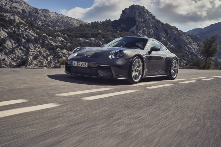 The new Porsche 911 GT3 with Touring package. Photo by Porsche AG