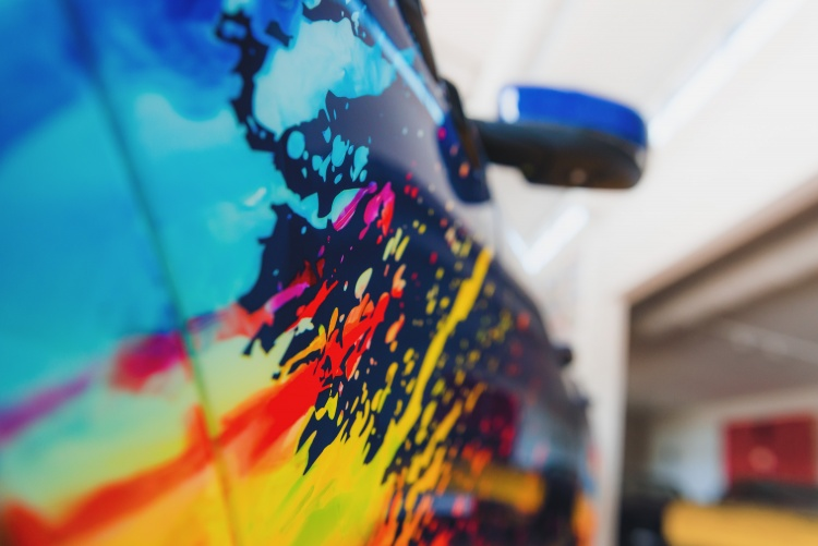 Spice up your Maserati with a splash of color. Photo by Maserati S.p.A.
