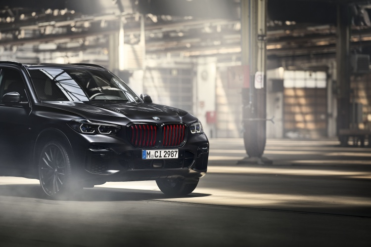BMW introduces the Black Vermilion edition. Photo by BMW Group