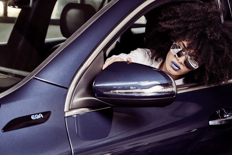 Exclusive Eyewear Collection from Mercedes-Benz & ic! berlin. Photo by Mercedes-Benz AG