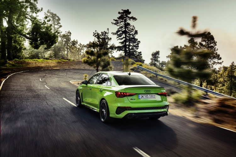 The new Audi RS3. Photo by Audi AG