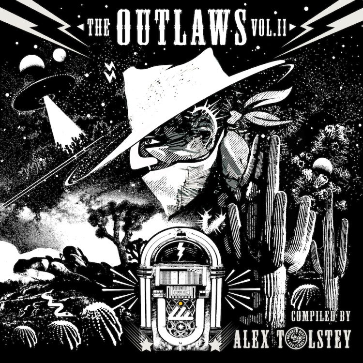 Ibogatech Records presents The Outlaws Vol. 2. Art by Ibogatech Records