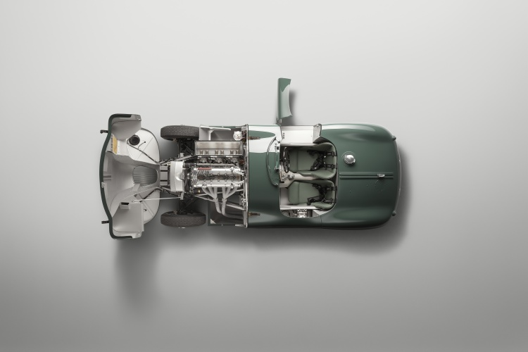 The New Jaguar C-Type Continuation Top View