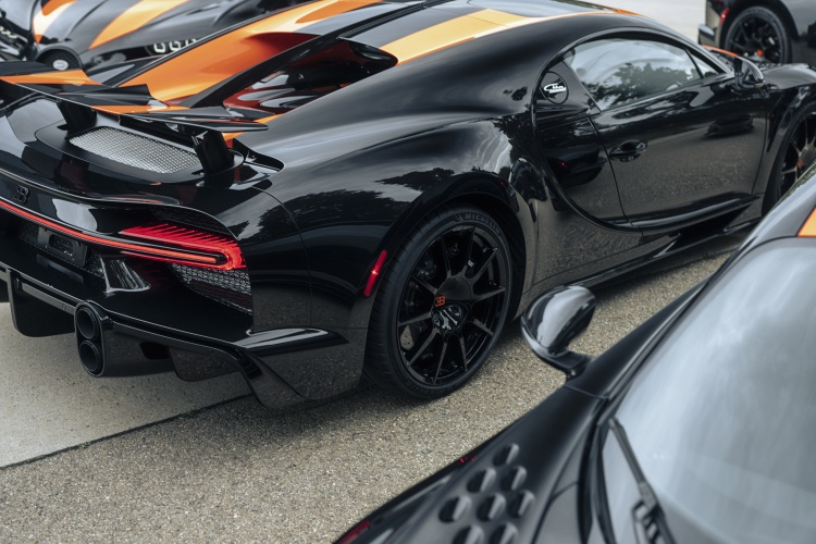 The first Bugatti Chiron Super Sport 300+ ready for launch